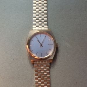 Nixon Minimal The Time Teller Womens Watch